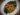 Små kycklingspett med Namasu och het pepparbuljong